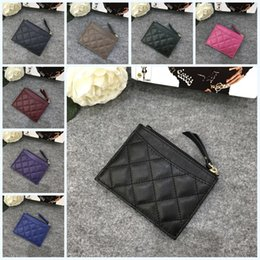 Graded coins online shopping - Fashion Mini Classic Credit Card Holder Pu Women Luxury Purses With Multi Color Creative High Grade Designer Coin Purse hm jj