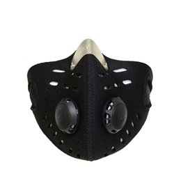 Discount cycling anti pollution mask - Cycling Face Mask Mouth-Muffle Dustproof Mask Outdoor Anti-pollution Mtb Running Bicycle Sports Protect cover Protective