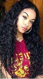 Kinky Curly Human Hair Afro Wigs Australia - Hot selling Afro Kinky Curly Wig Kinky Curly Human Hair Full Wigs with bangs in stock