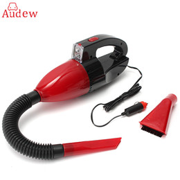 Hand Bags Types Australia - Red 60w 12v Car Power Portable Vacuum Cleaner Wet Dry Dual -Use Super Suction Red Light Car Dust Collector Cleaning