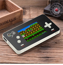 Discount game phones inch - New Arrival Retro Game Player with 5000mAh Mobile Power Bank for Phone DV MP4 For PSP 188 Classic Games 2.5 inch LCD Han