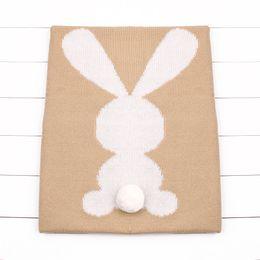 Discount warm winter bedding - Soft Warm Winter Baby Blankets Lovely Rabbit Toddler Infant Swaddle Wrap Bedding Blankets Children Bed Linen Animal Styl