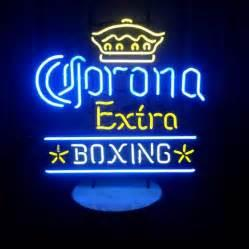 "neon sign sports bar UK - Corona Extra Boxing Neon Sign Custom Hand-crafted Real Glass Tube Sport Beer Bar Store Club Game Advertisement Display Neon Signs 20""X24"""