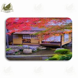 $enCountryForm.capitalKeyWord NZ - Vixm Colorful Maple Is A Beautiful And Quiet Style In Japan Welcome Door Mat Rugs Flannel Anti-slip Entrance Indoor Kitchen Bath Carpet