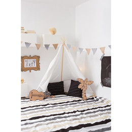 Discount child guitars - Indoor Room White Wall Baby Shower Backdrop Photography Printed Tent Guitar Flags Boy Kids Birthday Party Photo Booth Ba