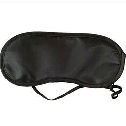 Wholesale Hot Sell Black Mask Bandage on Eyes Sleeping Eye Mask Black Eye Shade Sleep Mask Travel sleep tools High Quality