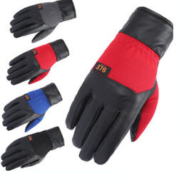 Gloves motorcycle motorbike online shopping - 2PCS pair Winter Warmer Men wommen Gloves Casual Touch Screen Warm motorcycle Moto Racing Gloves Cool Bicycle Cycling Motorbike GGA192