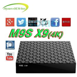 Best Android Tv Canada - 2018 Best Cheapest OEM M9S X9 TV Box Android 6.0 RK3229 Quad core TV Boxes Smart Set Top Box 2.4Ghz WIFI Media Player