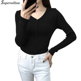 $enCountryForm.capitalKeyWord Canada - Fall Long Sleeve Knitted Sweaters Women Pullover basics Casual knitting jumper Office Tops Autumn Thin Knitwear Sweater Grey Y2