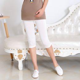 $enCountryForm.capitalKeyWord Australia - Maternity Bottom Pants Summer Thin Pregnant Knee Length Trousers Plus Size Pregnant Women Clothing Summer Capris
