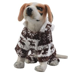 $enCountryForm.capitalKeyWord UK - New Autumn Winter Puppy Clothes Dog Christmas Style Clothing Warm With Cap Colorful Apparel Coat Lovely Pets Cloth Drop Ship