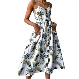 Sommer boho lange maxi dress langarm v-ausschnitt frauen dress kleidung lose damen party sommer casual strand