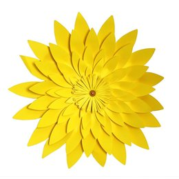 China Handmade Simulation Wall Flowers Bardian Fake Artificial DIY Half Made Paper Flower Home Wedding Good Quality 6 5zh6 dd supplier flower make home suppliers