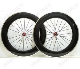 Carbon Clinchers Alloy Australia - 700C Alloy brake surface Road carbon wheels 88mm depth 23mm width clincher bicycle carbon wheelset 3K Glossy finish