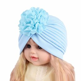 $enCountryForm.capitalKeyWord Canada - New Kids Turban cap Rose Flower Girls Baby Beanie Bohemia Headbands Girls Bandana Children Hair Accessories Headdress Headwear