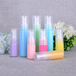 $enCountryForm.capitalKeyWord NZ - 10ml 30ML Colorful Refillable Empty Refillable Clear Plastic Pump Bottle Ideal for Lotion Cream Essential Oil Travel Small Container