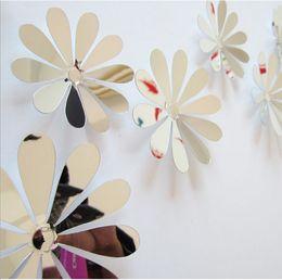 $enCountryForm.capitalKeyWord NZ - 3D flower PVC wall stickers home decoration flower wall decals for kids room TV wall stickers kids sticker