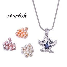 $enCountryForm.capitalKeyWord Canada - More Than 100 Styles Random Set For Choose Cage Pendant With 6-7MM Rice Pearl Lockets Pendant Necklaces For DIY Fashion Jewelry PP19