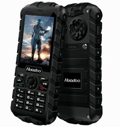 Radio militaRy online shopping - Original Huadoo H3 G mobile FM flashlight tough phones Waterproof phone Senior old man IP68 military Oudoor ultra Rugged shockproof Russia