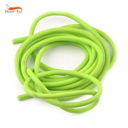 $enCountryForm.capitalKeyWord NZ - Sporting Natural Latex Tube Slingshot 5mm*5 10M Green Color Replacement Band for Hunting Sling Shot Catapults Slings Rubber