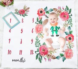 $enCountryForm.capitalKeyWord Australia - Baby Girl Boy Bedding Sheet Nordic Style Flower White Sheet Photo Backdrop Photography Prop Shoots Sheets