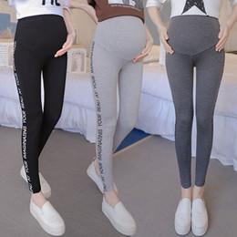 Leggings Pregnant Australia - Maternity New Pregnant Women Knitted Leggings Comfortable Casual Bottom Plus Size Casual Abdominal Pregnant Pants