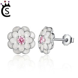 Pandora silver flower earrings australia new featured pandora 8 photos pandora silver flower earrings australia spring collection s925 sterling silver white flower elegant stud earrings mightylinksfo