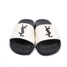 c9d8422c6 Luxury Women Sandals Top Quality Genuine Leather Italy Designer Metal  Buckle Slippers Ladies Summer Beach Flip Flops Size 35-40 L-86
