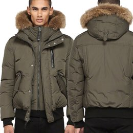 China DHL Free Shipping Canada Luxury Winter Warm Brand Clothing Jackets Mac Harvey-F4 Winter Down Bomber Jacket Thick Men's Down Jacket for Men supplier luxury bomber jacket suppliers