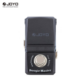 Effect Pedal Knobs Australia - JOYO JF-309 Boogie Master Amp Simulator Mini Electric Guitar Effect Pedal with Knob Guard True Bypass