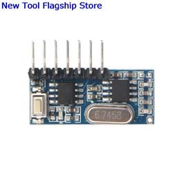 $enCountryForm.capitalKeyWord NZ - 433 MHz RF Code Learning Receiver Module 1527 Wireless Decoder 4 Output Channel For Remote Control