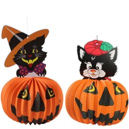 Novelty & Gag Toys Romantic Halloween Party Diy Decoration Hanging Pumpkin Ghost Doll Home Wall Ornaments Pendant
