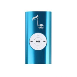 Chinese  overmal Newest Mini Metal USB Clip Digital Mp3 Music Player Support 16GB SD TF Card Sport Compact design best Christmas gift manufacturers