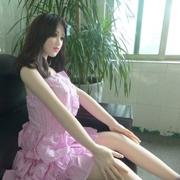 plastic for anal 2019 - 1:1 135cm Real Silicone Sex Dolls Lifelike Sexy Dolls Skeleton Japanese Love Dolls Anal Vagina Real Pussy Oral Doll for