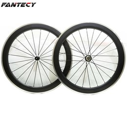 $enCountryForm.capitalKeyWord UK - Free shipping alloy brake surface carbon wheels 700C 60mm depth 23 mm width road bike clincher wheelset with Powerway R36 hubs
