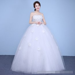 $enCountryForm.capitalKeyWord Australia - china Lace Up Ball Gown appliques Quality Wedding Dresses 2018 Customized Plus Size Bridal Dress Real Photo