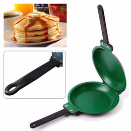 $enCountryForm.capitalKeyWord Canada - Non-Stick Flip Pan Ceramic Pancake Maker Cake Porcelain Frying Pan Nonstick Healthy General Use For Gas And Induction Cooker Hot
