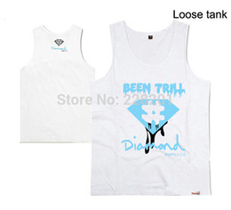 tank tops styles for men 2021 - 2018 new style casual hip hop diamond supply men's tank tops handsome for men vest plus size xxxl loose tank tops o-neck diamond