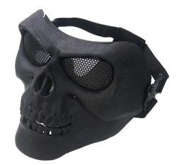 Venta al por mayor de Máscara de pistola de agua M02 CS real máscara de campo de protección táctica equipo ventilador del ejército máscara de ceniza de plata
