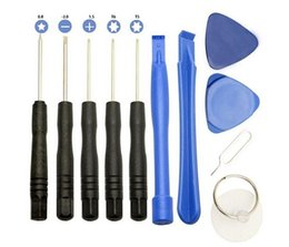 $enCountryForm.capitalKeyWord NZ - 11 in 1 Mobile Phone LCD Screen Battery Opening Pry Repair Tool Kit Screwdriver Set For iPhone Samsung Accessory Cell Phone Repairing Tools
