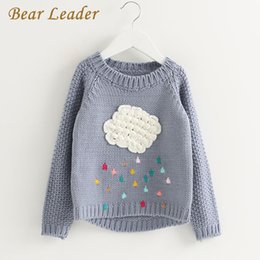 $enCountryForm.capitalKeyWord Canada - Bear Leader Girls Clothing 2017 Winter Pullover Children Sweaters Cartoon Cloud Long Sleeve Outerwear O-neck Kids Knitwear 3-7Y