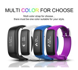 Discount bluetooth wrist alarm P6 0.86 inch OLED Smart Band Vibrating Alarm Bracelet Calorie Counting Wristband Bluetooth Fitness Tracker smart Sleep m