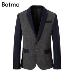Chinese  Batmo 2018 new arrival summer high quality casual thin suits men,men's casual jackets,men's blazer ,Flash Deals TB06 manufacturers