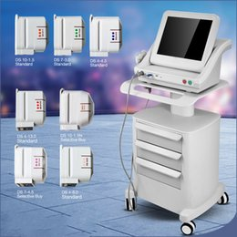 ultrasonic for instruments 2019 - Hifu Cartridge Body Slimming Hifu Ultrasound For Face And Body Ultrasonic Facial Beauty Instrument 5 Hifu Cartridges Wit