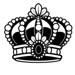 crown door NZ - Crown Headdress Car Decal Sticker Vinyl Car Packaging Fashion Personality Creative Classic Charming