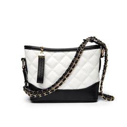 Quilted Handbags Chains NZ - 2018 Women Shoulder Bags Female Party Crossbody Chain Bag Plaid Handbag Quilted Sac A Main Femme Women Leather Handbags