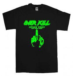 Speed S NZ - Personality Regular Overkill T Shirt New Black T Shirt S 3XL Thrash Speed Metal Band Exodus Sodom Men O-Neck Short-Sleeve Tee
