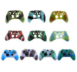 China For Xone Soft Silicone Flexible Camouflage Rubber Skin Case Cover For Xbox One Slim Controller Grip Cover suppliers