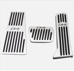 $enCountryForm.capitalKeyWord Australia - Car Stainless steel Gas Brake Foot Pedal Pads Cover With Rest Pedal For  CX-5 2015-2018 Free Fast Shipping
