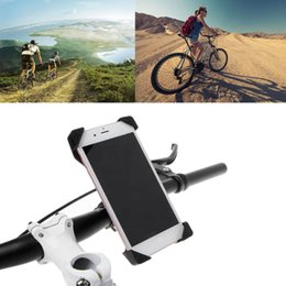 bicycle cell phone holders 2019 - Bicycle Phone Holder Universal Bike Handlebar Adjustable Holder Cell Phone Stand discount bicycle cell phone holders